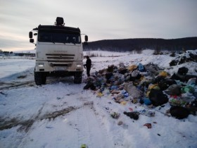 Начался вывоз мусора